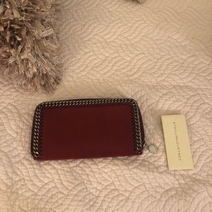 Authentic Stella McCartney Falabella Maroon Wallet